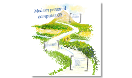 Modern Personal Computer Operating Systems (3.3.1.f)