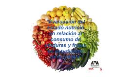 """""""Evaluación del estado nutricio"""