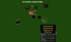 PDTI-PLANO DIRETOR DA  TECNOLOGIA DE INFORMAÇÃO