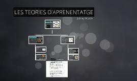 TEORIES D'APRENENTATGE