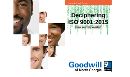 Handout ISO 9001:2015