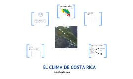 El clima en Costa Rica