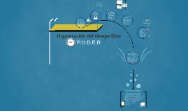 Copy of Organización del tiempo libre
