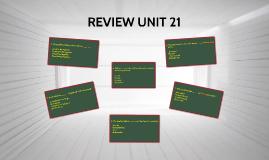 REVIEW UNIT 21 (A06)