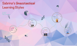Sabrina's Snazztastical Learning Styles