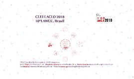 CLEI LACLO2018