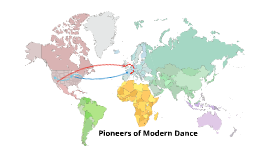 Copy of Pioneers of Modern Dance