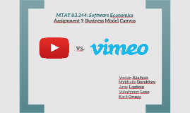 YouTube vs. Vimeo