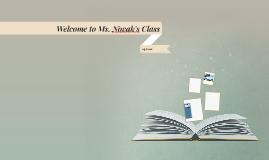 Welcome to Ms. Novak's Class