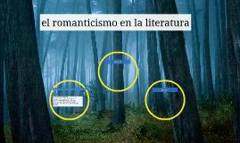 el romanticismo en la litertura