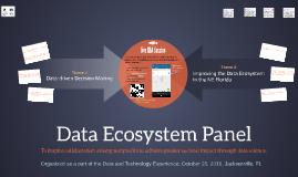 Data Ecosystem Panel
