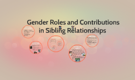 The Role of Gender in Sibling Communication