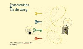 Innovaties in de zorg