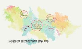 Music in Elizabethan England