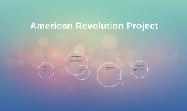 Copy of American Revolution Project