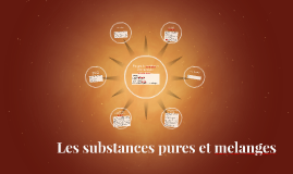 Les substances pures et melanges