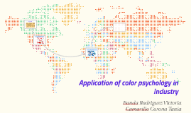 Application of color psychology in industry