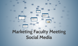 Marketing Faculty Meeting