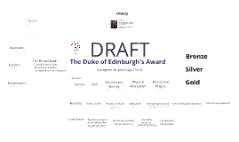 Copy of Duke of Edinburgh's Award Program Overview