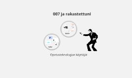 007 ja rakastettuni