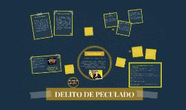 DELITO DE PECULADO