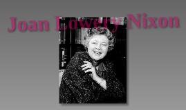 Joan Lowery Nixon Presentation