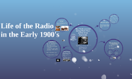 How Radio was used during World Wars and the Great Depressio