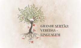 GRANDE SERTÃO: VEREDAS - LINGUAGEM