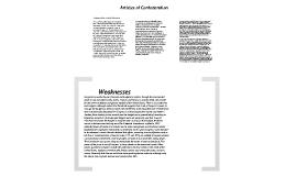 Us History Articles of Confederation