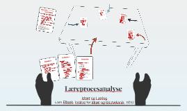 Læreprocesanalyse