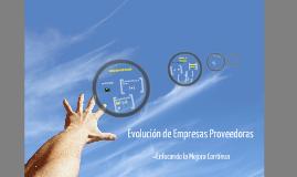 EVOLUCIÓN DE PROVEDORES