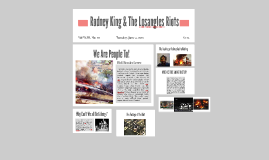 Rodney King & The Losangles Riots