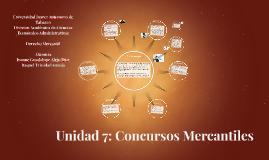 Copy of Unidad 7: Concursos Mercantiles