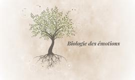 Copy of Biologie des émotions