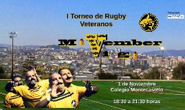 I torneo de Rugby Veteranos Movember