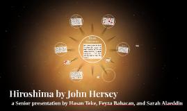 Hiroshima Theme Project