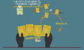 Lavoro di gruppo in modalità Jigsaw