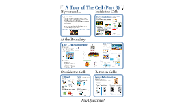 Tour of the Cell- Part 3- Cell Membrane