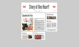 Copy of Story of One Heart!