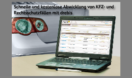Schnelle und kostenlose Abwicklung von KFZ- und Rechtsschutzschäden über drebis