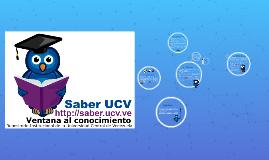 Saber UCV: Ventana al conocimiento
