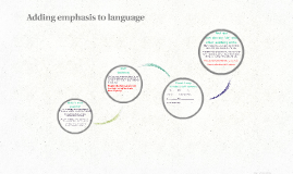 Copy of Adding emphasis to language