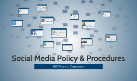 Social Media Policy & Procedures
