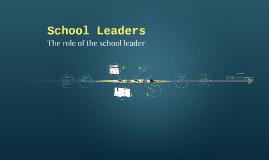 School Leaders