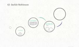 42- Jackie Robinson