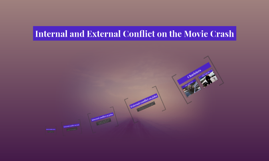 internal and external conflict on the movie Crash