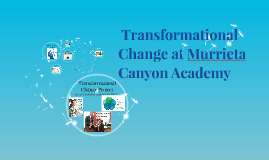 Need for Transformational Change
