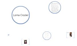Poetry Lorna Crozier