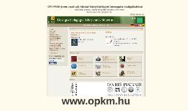 OFI-PKM iskolai könyvtárügyet támogató szolgáltatásai