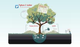 Python & twitter (english)